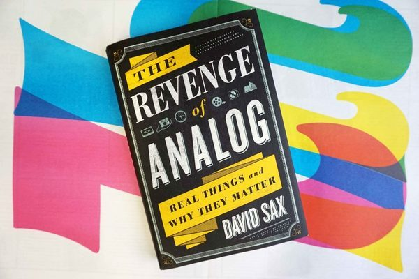 Newspaper Club is giving away a copy of The Revenge of Analog, a new book from David Sax.