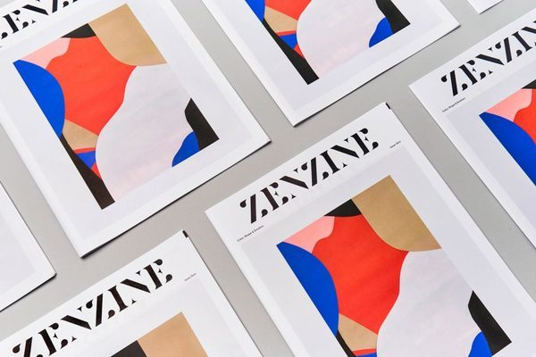 Interview with graphic designer Elena Miska about her newspaper Zenzine