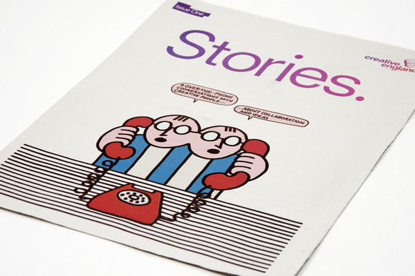 Creative England Stories Newspaper