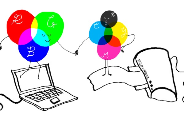 What's the difference between CMYK and RBG colours?
